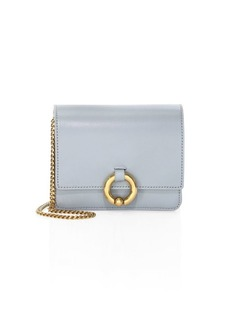 A.L.C. Baby Charlie Smooth Leather Clutch