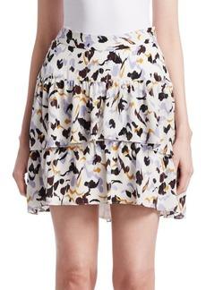 A.L.C. Baxter Silk Mini Skirt