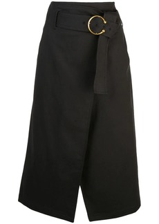 A.L.C. belted midi skirt