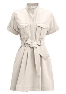A.L.C. Bryn Cotton-Linen Shirt Dress