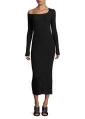 A.L.C. Brynn One-Shoulder Midi Dress