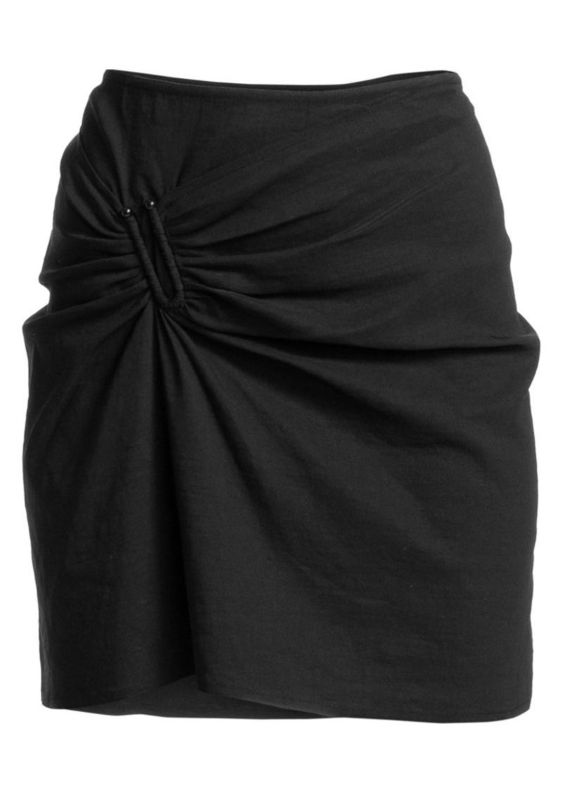 A.L.C. Burke U-Ring Mini Skirt