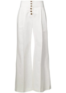 A.L.C. buttoned flared trousers