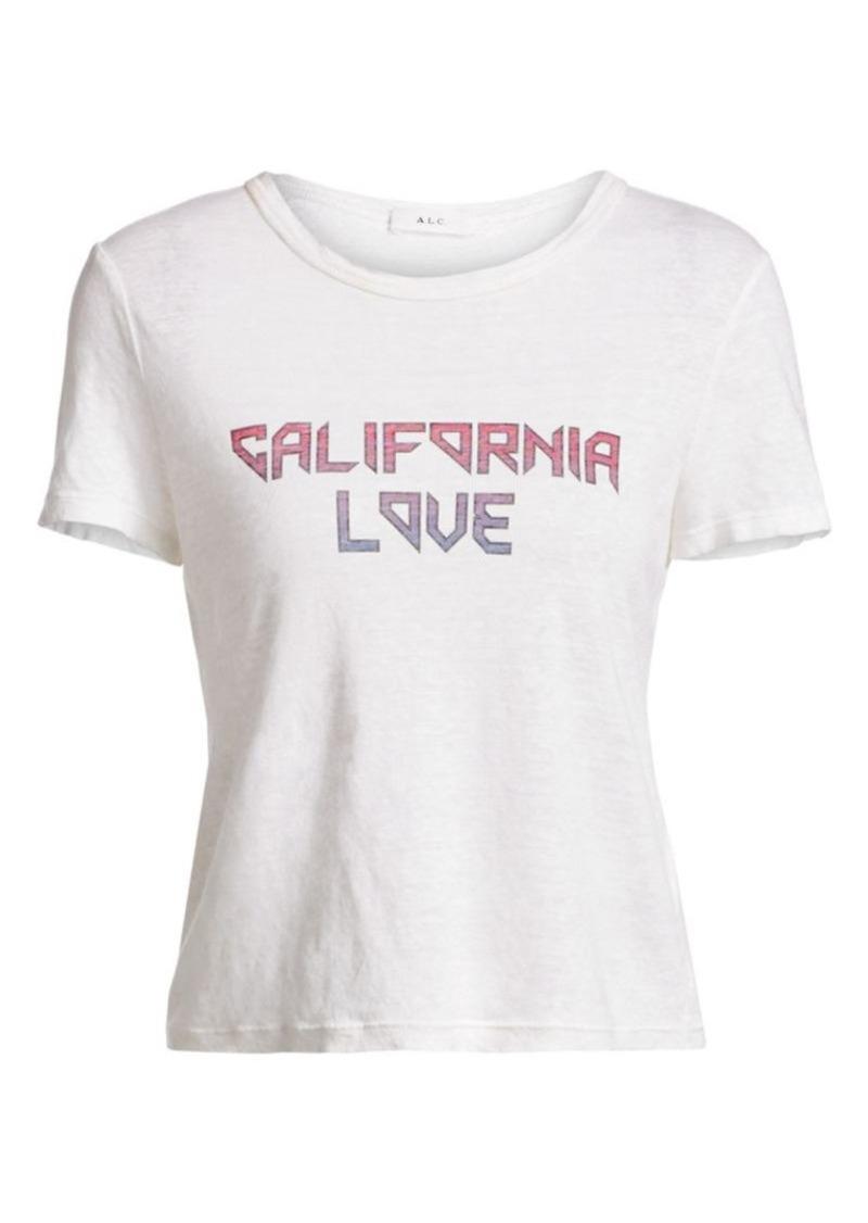 A.L.C. California Love Linen Tee