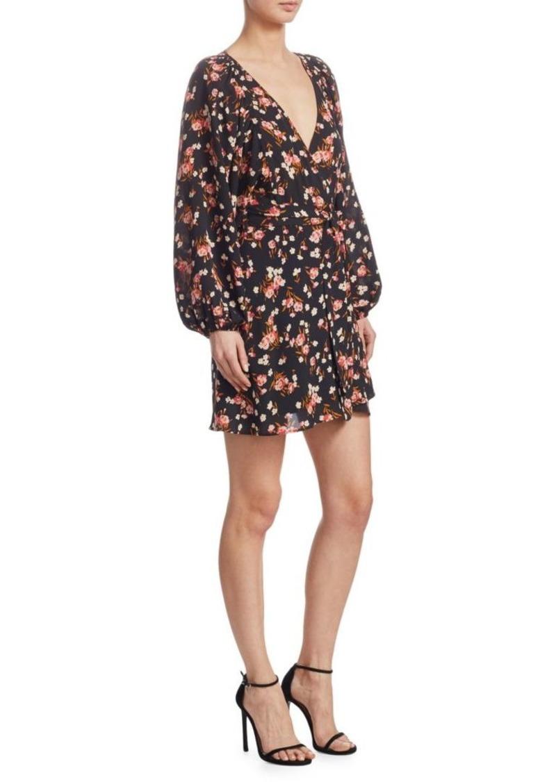 A.L.C. Carlo Floral Wrap Dress