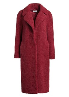 A.L.C. Caron Fuzzy Faux Curly Shearling Coat
