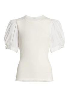 A.L.C. Casey Puff Short-Sleeve Top