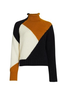A.L.C. Claremont Colorblocked Sweater