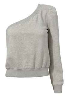 A.L.C. Crane One Shoulder Sweatshirt