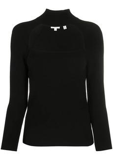 A.L.C. cut-out high neck jumper