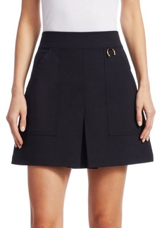 A.L.C. Dane Cotton A-line Mini Skirt