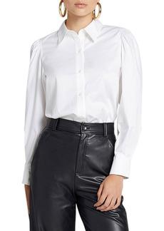 A.L.C. Dani Pouf-Sleeve Shirt