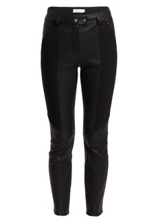 A.L.C. Devin Skinny Leather Pants