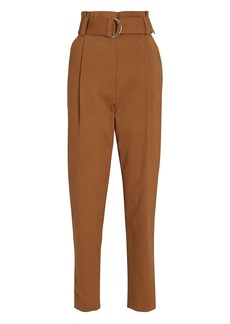 A.L.C. Diego Tapered Paperbag Trousers