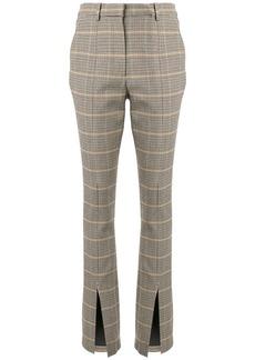 A.L.C. Edwin check print trousers
