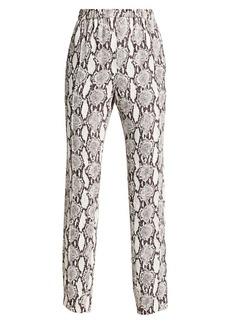A.L.C. Elijah Python Print Silk Pants