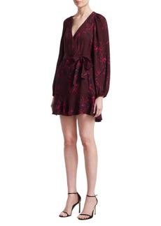 A.L.C. Embry Wrap Mini Dress