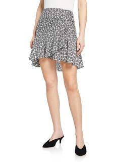 A.L.C. Farrow Printed Tulip Skirt