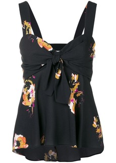 A.L.C. floral babydoll camisole
