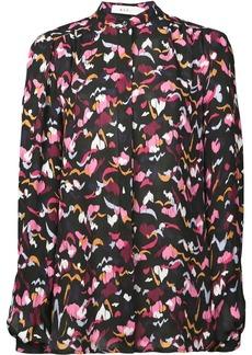 A.L.C. floral print long-sleeve blouse