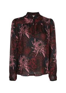 A.L.C. floral long-sleeve blouse