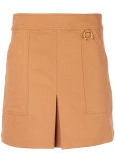 A.L.C. front slit mini skirt