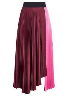 A.L.C. Grainger Pleated Colorblock Skirt