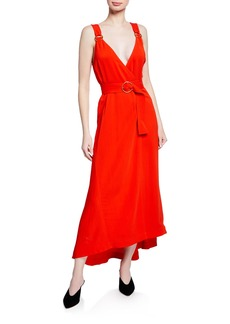 A.L.C. Haley Belted Sleeveless Long Dress