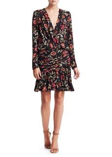 A.L.C. Haven Silk Floral Dress