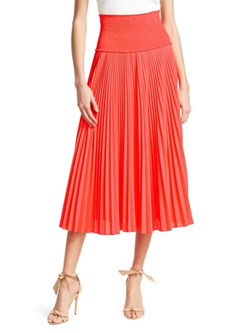 A.L.C. Hedrin Pleated Midi Skirt