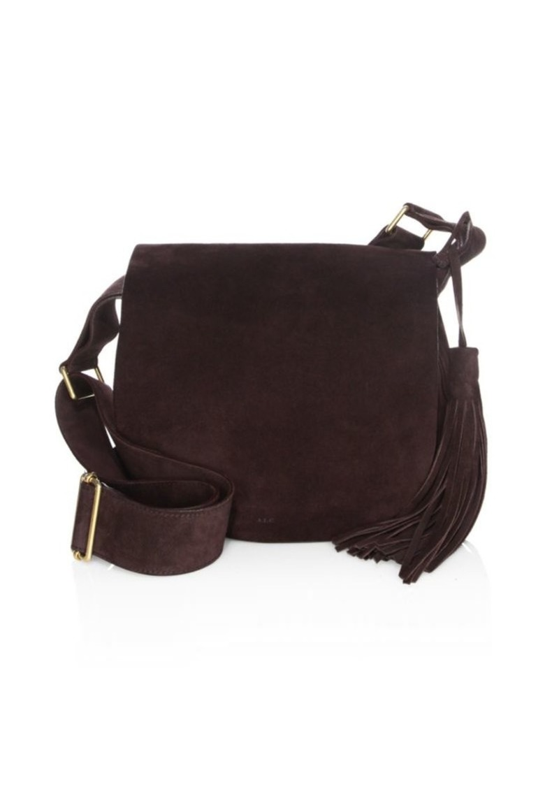 A L C Henry Leather Saddle Bag