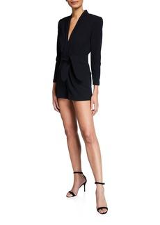 A.L.C. Heston Belted Short Jumpsuit