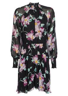 A.L.C. Hollis Floral Silk Dress