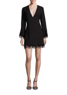 A.L.C. Jamie Lace Hem Dress