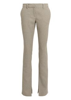 A.L.C. Javier Houndstooth Trousers