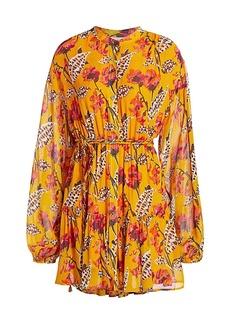A.L.C. Jen Floral Silk Dress