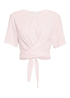 A.L.C. Jules Tie Back Light Pink T-Shirt