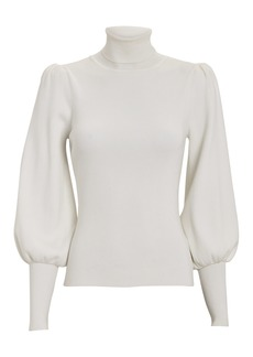 A.L.C. Karla Puff Sleeve Turtleneck