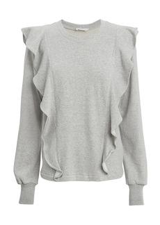A.L.C. Keller Ruffle Sweatshirt