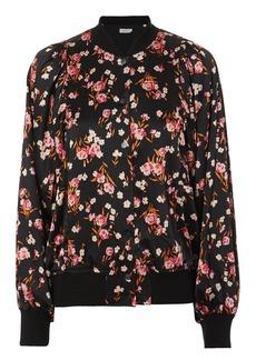 A.L.C. Kelley Floral Print Bomber Jacket