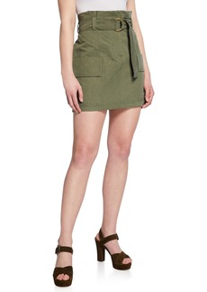 A.L.C. Kelsey High-Rise Plisse Wrap Skirt