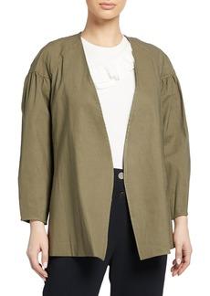 A.L.C. Kendrick Tie-Front Linen-Blend Jacket