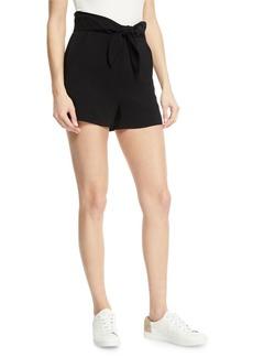 A.L.C. Kerry High-Waist Tie-Front Shorts