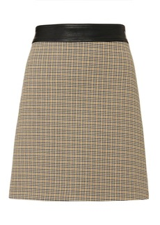 A.L.C. Krisa Houndstooth Mini Skirt