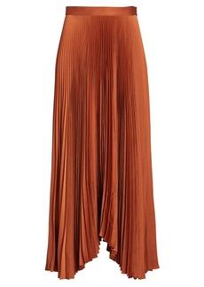 A.L.C. Laine Pleated Midi Skirt