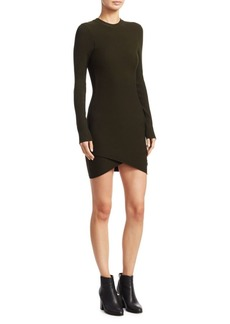 A.L.C. Lara Long-Sleeve Knit Dress