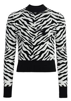 A.L.C. Lola Zebra Sweater