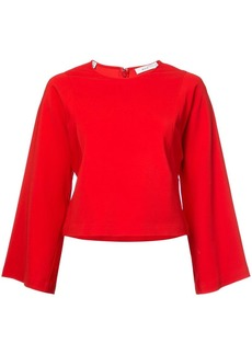 A.L.C. long-sleeve flared sweater