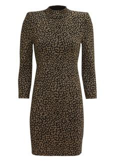 A.L.C. Mahry Leopard Mini Dress