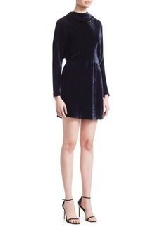 A.L.C. Marin Draped Mini Dress